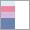 błękit-róż-fiolet-granat-biały K094